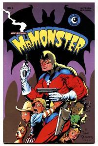 DOC STEARNS MR MONSTER #2 1985 DAVE STEVENS cover art-VF/NM