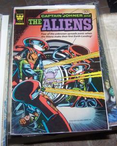 CAPTAIN JOHNER AND THE ALIENS # 2  WHITMAN  VARIANT 1982