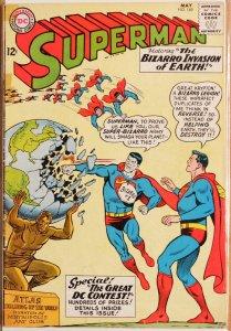 Superman #169 (1964) Good+ 2.5 Bizarro