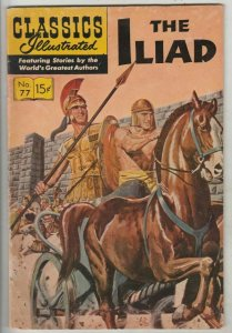 Classics Illustrated # 77 Strict FN/VF Mid-High-Grade Key Number 6th printing