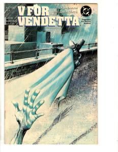 V For Vendetta # 7 NM DC Comic Book Alan Moore Limited Series TD7