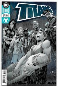 Titans #27 Foil Cvr (DC, 2018) NM