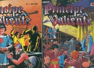 El Principe Valiente de Ediciones B, coleccion completa de 91 numeros