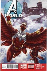 Avengers World #7 Falcon 1st Ascendants NM