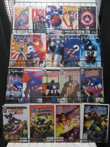 Captain America (Marvel Knights v4 2002) #1-32 Lot of 19Diff Cassady Patriots