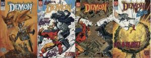 DEMON (1990) 12-15  vs LOBO