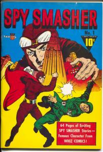 Flashback #24 1970's-Reprints Spy Smasher #1 from 1940 -VF