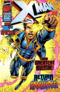 X-Man Annual #1996, NM + (Stock photo)