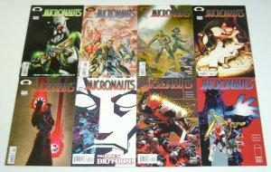 Micronauts #1-11 VF/NM complete series + joe linsner variant - image comics set