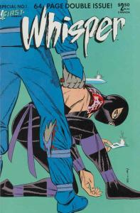Whisper (Vol. 2) Special #1 FN; First | save on shipping - details inside