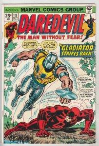 Daredevil #113 (Sep-74) NM- High-Grade Daredevil, Black Widow