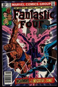Fantastic Four #231 (Jun 1981, Marvel) 7.0 FN/VF