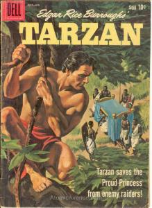 Tarzan (Dell) #119 VG; Dell | low grade comic - save on shipping - details insid