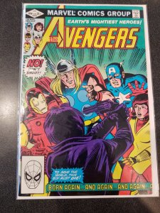 THE AVENGERS #218 BRONZE AGE CLASSIC VF/NM