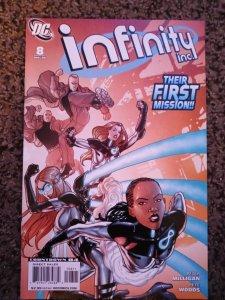 Infinity Inc. #8 (2008) Vf-NM