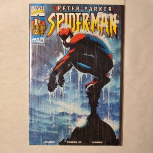 Peter Parker Spider-Man 1 Very Fine+ Cover by Cover by John Romita Jr.
