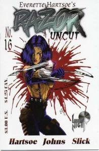 Razor: Uncut #16, NM (Stock photo)