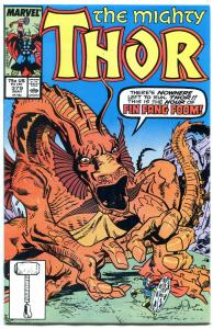 THOR #379 comic book-HIGH GRADE COPY-MARVEL-Fin Fang Foom NM