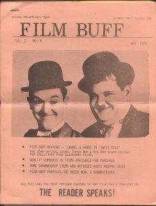 Film Buff #9 5/1973-Laurel & Hardy-historic info-VG