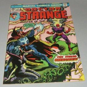 Doctor Strange #3 FN/VF 1974 Marvel Comic Book Fake Fan Letter Dreaded Dormammu