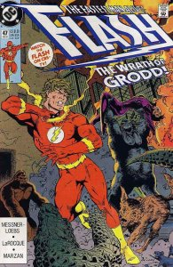 Flash (2nd Series) #47 VF/NM; DC   save on shipping - details inside
