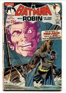 BATMAN #234 comic book- 1971-FIRST TWO-FACE-DC VG