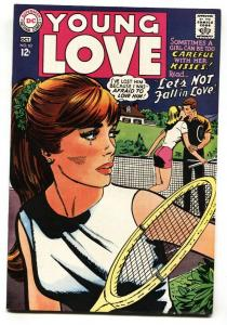 YOUNG LOVE #63 1967-DC ROMANCE-TENNIS COVER VF