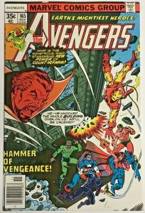AVENGERS#165 VF 1977 MARVEL BRONZE AGE COMICS