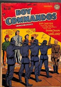 Boy Commandos #29 VG- 3.5