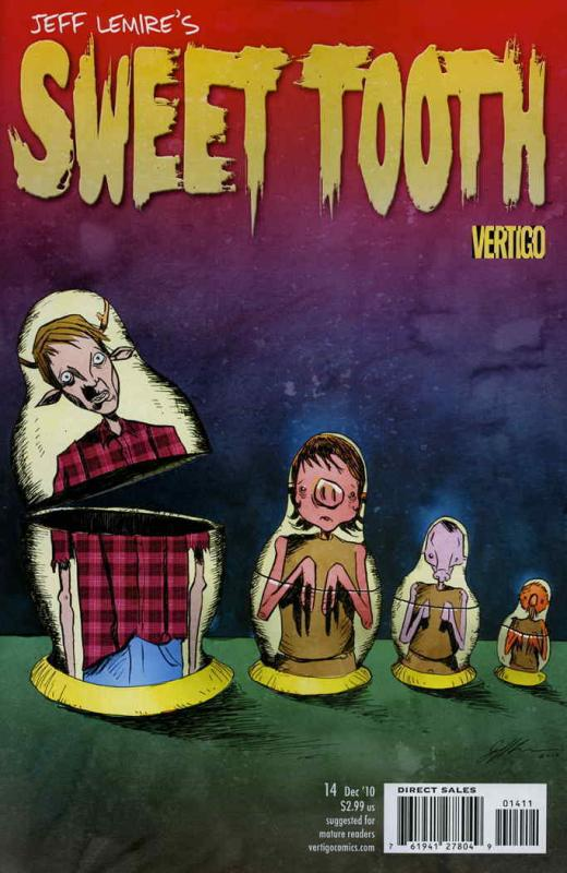 Sweet Tooth #14 VF/NM; DC/Vertigo | save on shipping - details inside
