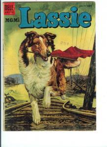 Lassie  #19 Nov.-Dec. 1954 - Silver Age - (VG)