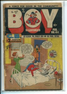 BOY COMICS (1942 LEV GLEASON #44 Poor A00385