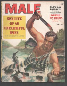 Male 12/1953-Atlas-Bot Schulz bloody escaped prisoner cover-War-horse racing0...