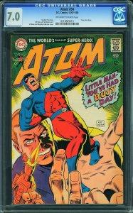 Atom #34 (DC, 1967) CGC 7.0