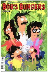 BOB'S BURGERS #1, NM, 2015, Tina, Louise, Linda, Gene,from TV show,more in store