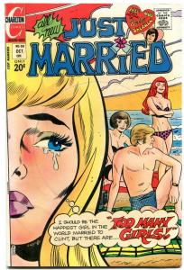 Just Married #88 1972- Charlton Romance- Too Many Girls VG