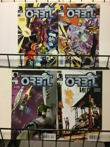 OUTER ORBIT (2006 DH) 1-4  complete series!