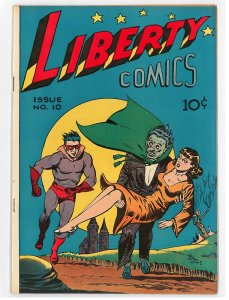 Liberty Comics (1946 Green) #10 VF The Hangman, Boy Buddies, Hard to find