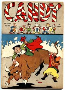 Candy Comics #1 1944 Funny Animal Humor Golden-Age Basil Wolverton