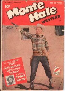 MONTE HALE WESTERN (1948-1956 FAWCETT/CH) 43 G PHOTOCO COMICS BOOK