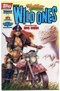 WILD ONES #1, NM-, Cadillacs, Dinosaurs, Joseph Linsner ,1994, more JML store