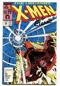 X-MEN #221 1st appearance MR. SINISTER-SO MUCH FUN VARIANT-HTF