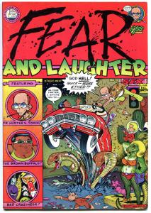 FEAR and LAUGHTER #1,  VF, Hunter S Thompson Parody, Underground, 1977,Loathing