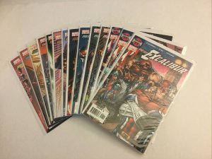 New Excalibur 1-24 Nm Near Mint Marvel Comics