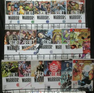 Secret Warriors (v2 2009) Lot of 15Diff from #1-28 Nick Fury's Spy Commandos