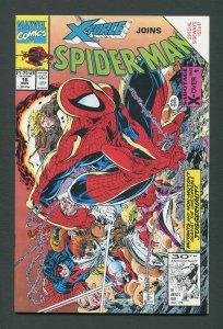 Spiderman #16 (McFarlane)  9.4 NM - 9.6 NM+   November 1991