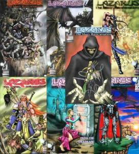 LAZARUS MANY REINCARNATIONS (2000 LODESTONE)1-7 the SET COMICS BOOK