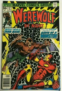 WEREWOLF BY NIGHT#42 FN/VF 1977 MARVEL BRONZE AGE COMICS