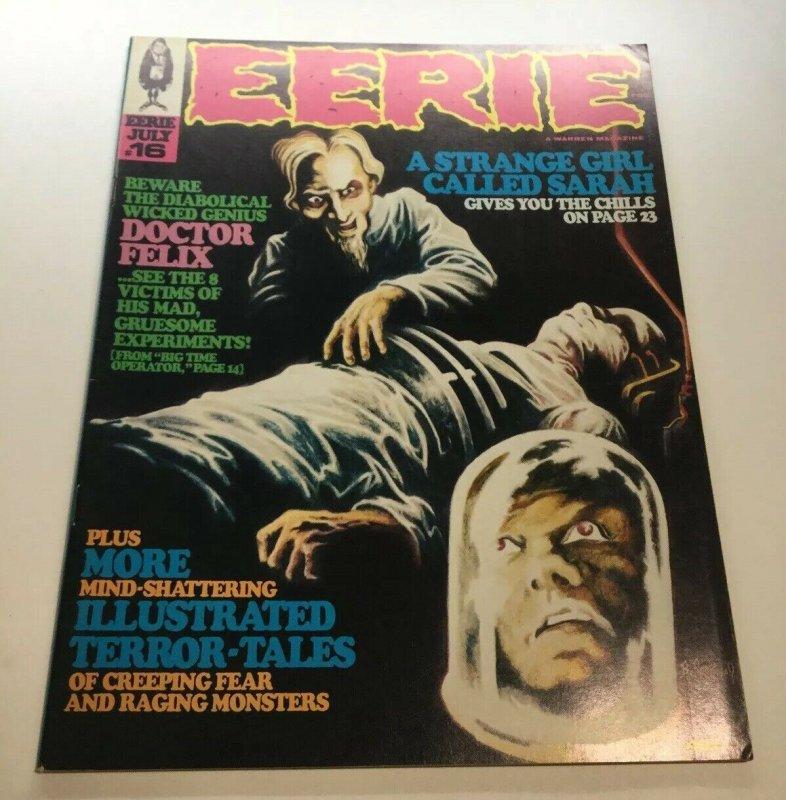 Eerie 16 Vf Very Fine 8.0 Magazine 1968