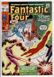 FANTASTIC FOUR #105, VF+, John Romita, Thing, Monser,more FF in our store